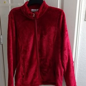Soft zip up jacket with pockets nwot